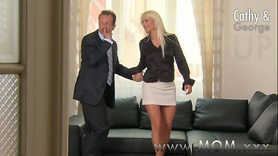 mom blonde cougar gets pounded hard